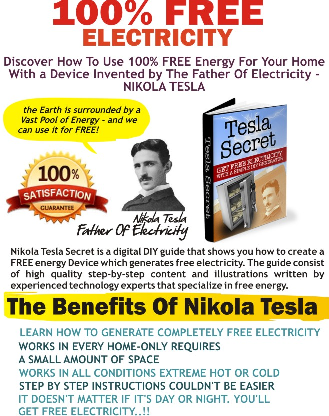 Tesla Generator Blueprints Pdf